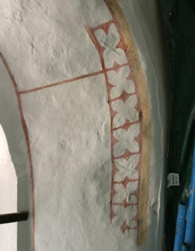 Horná časť okna-interiér-stav po retuši a reštaurovaní