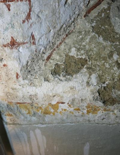 Spodná časť okna-interiér- stav po očistení